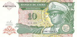10 NK Banknote 1993 Bank Of Zambia UNC - Zambia