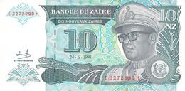 10 NZ Banknote 1993 Bank Of Zambia UNC - Zambia