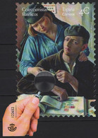 Spain (2020) - Block -  /  Stamps On Stamps - Plastic Magnifying Glass - UNUSUAL - Stamps On Stamps