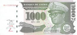 1000 NZ Banknote 1995 Bank Of Zambia UNC - Zambia