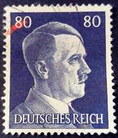 Allemagne Germany Deutschland 1941 Hitler Yvert 722 O Used - Gebraucht