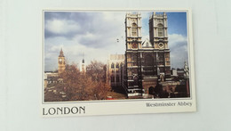 CPSM CIRCULEE EN 1995 - LONDON - WESTMINSTER ABBEY - Westminster Abbey
