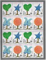 EUROPA, 1986 Serie In Quartina** - 1981-90: Neufs