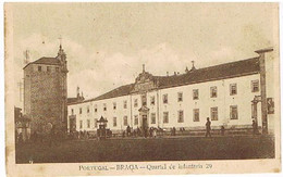 PORTUGAL  BRAGA  QUARTEL  DE    INFANTARIA 29   TBE P44 - Braga