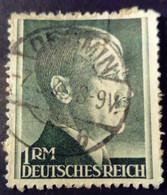 Allemagne Germany Deutschland 1941 Hitler Yvert 723 O Used - Gebraucht
