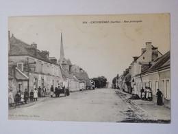 854. CROSMIERES Rue Principale - Andere Gemeenten