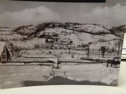 Cartolina Borbona Prov Rieti Panorama Invernale Neve 1970 - Rieti