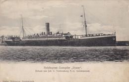 Reichspost Dampfer, Roon, Erbaut Von Joh. C Tecklenburg A.G. Geestemünde (pk72923) - Piroscafi