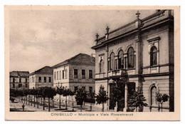 CINISELLO -Municipio E Via Rimembranza - Cinisello Balsamo