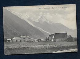 Chamonix - La Gare Et Le Mt-Blanc - Chamonix-Mont-Blanc