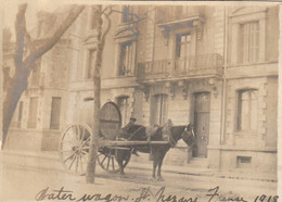 Photo 1919 SAINT-NAZAIRE - Transport D'eau, Attelage (A225, Ww1, Wk 1) - Saint Nazaire