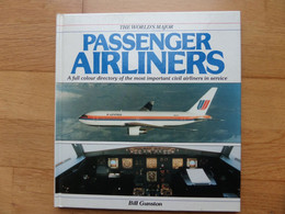 1991 The Worlds Major PASSENGER AIRLINES Full Colour Directory - BIll Gunston - Airbus Boeing Fokker Let Saab + Others - Trasporti