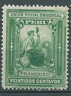 Perou - Yvert N° 123  *  -  Lr 32502 - Perú