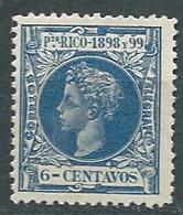 Puerto - Rico Yvert N° 141 * -  Lr 32525 - Porto Rico