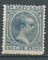 Puerto-rico - Yvert N° 99 *  -  Lr 32527 - Porto Rico