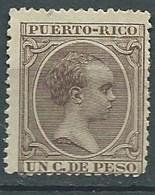 Puerto - Rico Yvert N°77 * -  Lr 32526 - Porto Rico
