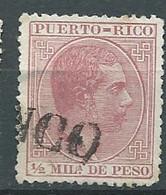 Puerto-rico - Yvert N°55 Oblitéré  -  Lr 32529 - Porto Rico