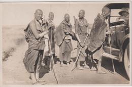 KENYA  Masai Women And Vintage Car Etc 0 Superb Ethnic Etc - Africa