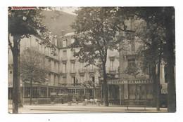 Carte Photo 65 BAGNERES DE BIGORRE Hôtel CONTINENTAL - Bagneres De Bigorre