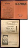 NAMUR   Programme Cinéma Caméo   Janvier 1936 - Programmes