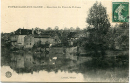 PONTAILLER Sur SAÖNE -  QUARTIER Du PONT De St JEAN - - Altri Comuni