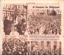 A Travers La Belgique-Résistance-Maquis-Escadron Brumagne-Limelette-Comblain-au-Pont-Prêtre Héros-Le Patr. Illustré-1946 - 1900 - 1949