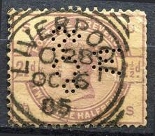 Grande Bretagne - 1883/1884 - Yt 79 - Victoria - Oblitéré Et Perforé - Usados