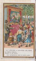 20A2261 CHROMO CHOCOLAT GUERIN BOUTRON Le Théâtre à Travers Guignol Et Son Public - Unclassified