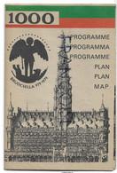 Millénaire De Bruxelles. Bruocsella 979-1979. Programme Et Plan. - Dépliants Turistici