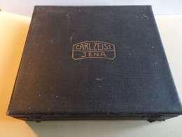 CARL ZEISS :  ANCIEN COFFRET VIDE    POUR PLAQUES  STEREO  ? - Supplies And Equipment