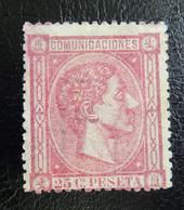 &SVE 175A& ESPAÑA, SPAIN. EDIFIL 166, MICHEL 150, YVERT 157  UNUSED (*). - Ungebraucht