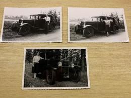 Lot 3 Photos Voiture DONNET (1953) - Auto's