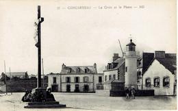 29 Concarneau La Croix Et Le Phare  N° 37 ND - Concarneau