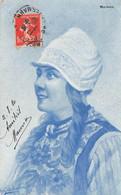 ILLUSTRATEUR G. GERSTENHAUER - Portrait Femme - Andere Illustrators