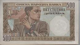 Billet De 500 ?  ( à Localiser ) 1941 - Unknown Origin