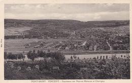 Pont Saint Vincent, Panorama Sur Neuves Maisons Et Chavigny (pk72983) - Sonstige Gemeinden