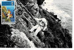 CARTE MAXIMUM GUERNESEY 1977 ST JOHN AMBULANCE CENTENARY - Guernsey