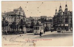 ZURIGO - ZURICH - BAHNHOFPLATZ UND POLYTECNIKUM - 1905 - TRAM -  Vedi Retro - Formato Piccolo - ZH Zurich