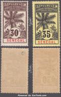 Senegal Dallay N° 39 Et 40 Neufs ** Sans Charnière TB (cote 115€) - Unused Stamps