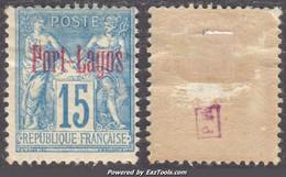 Port-Lagos Dallay N° 3 Neuf * Aspect TB (cote: 100€ ) - Unused Stamps