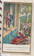 20A2273 CHROMO CHOCOLAT GUERIN BOUTRON Le Théâtre à Travers Les Ages Le Theatre En Plein Air En Provence - Sin Clasificación