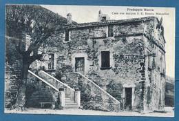 PREDAPPIO NUOVA CASA DOVE NACQUE MUSSOLINI VG. 1930 TIMBRO DELLA CASA N°A436 - Forlì