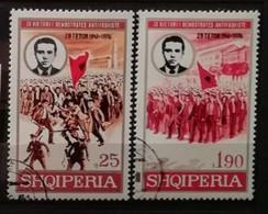 Albanie 1976 / Yvert N°1671-1672 / Used - Albanië