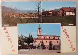 Saluti Da TORRAZZO (Biella) # Vedutine # Cartolina Non Viaggiata - Biella