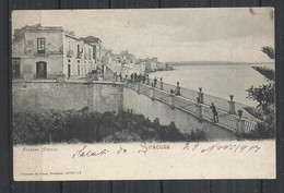 SIRACUSA 1907 -  FONTANA ARETUSA - RARA! - Siracusa