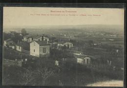 VUE PRISE DE GUILHMERY  SUR LA VALLEE D HERS  VERS PERROLE TRES BON ETAT - Toulouse