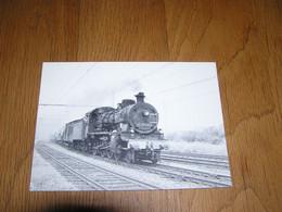 VAPEURS BELGES Locomotive Vapeur Type 64 à Namur SNCB NMBS Belgique Carte Postale Postkaart Chemin De Fer - Treinen
