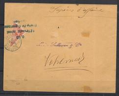 Madagascar - 1906 - N°Yv. 93 Sur Enveloppe Avec Cachet De Vohemar - Oblitéré / Used - Lettres & Documents
