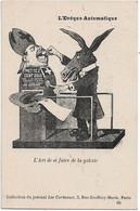 """""""L'evêque Automatique"""" --Caricature Satirique,anti Cléricale - Collection  Journal """"Les Corbeaux"""" - Satirische"""