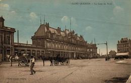 G1511 - SAINT QUENTIN - D02 - La Gare Du Nord - Saint Quentin